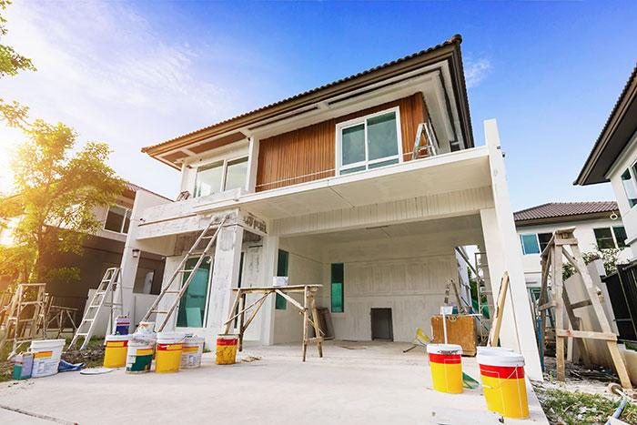 exterior home construction