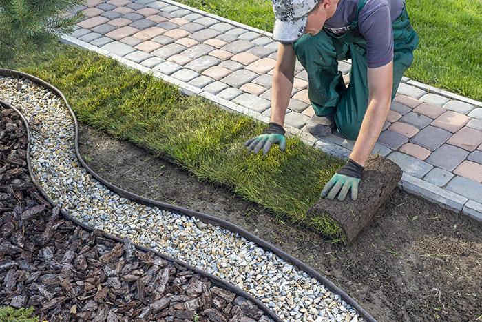landscaping patios decks lawns